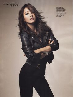 Hyori's jacket. Ack, you're an inspiration.