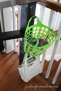 Use Baskets to Organize Crafts