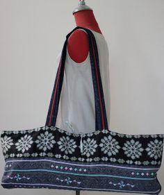 Yoga mat Bags Vintage Hmong Fabric Handmade Tribal by ztomhomeshop, ฿1400.00
