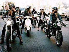 Women & #Moto - bikes, bikes, bikes.