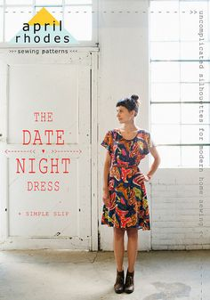 The Date Night Dress Pattern by April Rhodes  Plus by Owlanddrum, $18.00