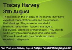 What your Birthday says about your career? Find at http://apps.yourbirthdaysays.com/birthday_say_about_career