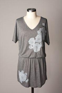 women's tunics tunic dress women tunic tops gray tunic by flytrap