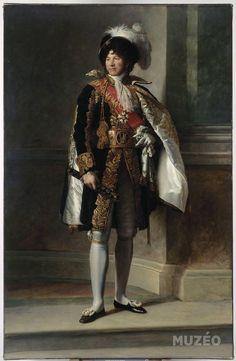 """""""Portrait de Joachim Murat, maréchal de l'Empire, en grande tenue - François Gérard """""""