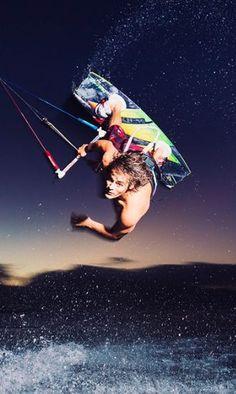 Shawn Richman. #thepursuitofprogression #Lufelive #Kiteboarding #Kiteboard #LA #NY #Surf #Kitesurf
