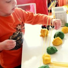 Play+Dough+Noodle+Threading+Activity