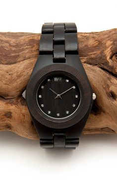 Dark Wood watch #fashion #style #coolwatch