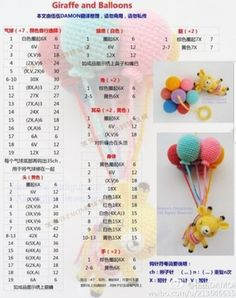 Best 8 globos amigurumi by krololó – – SkillOfKing. Crochet Bear Patterns, Crochet Bunny Pattern, Crochet Birds, Cute Crochet, Baby Knitting Patterns, Amigurumi Patterns, Crochet Animals, Crochet Crafts, Crochet Dolls