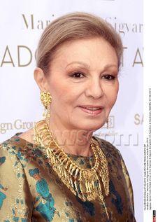 The Empress Farah Pahlavi of Persia at the Bernadotte award