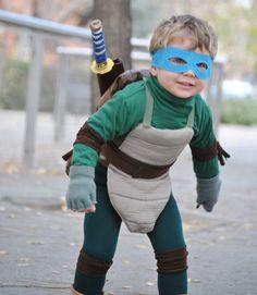 disfraz casero de tortuga ninja