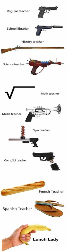 How teachers in the US are going to be.
