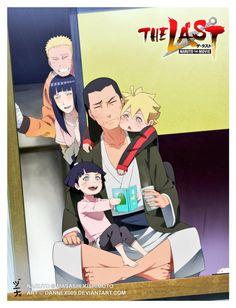 naruto, hinata, himawari, naruhina y boruto Naruhina, Naruto Uzumaki, Anime Naruto, Himawari Boruto, Art Naruto, Naruto Cute, Manga Anime, Hinata Hyuga, Gaara