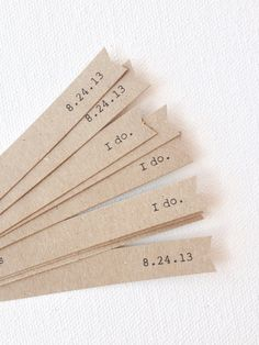 Straw flags - wedding straw flags - kraft brown wedding decorations - party flags - cupcake toppers on Etsy, $11.00