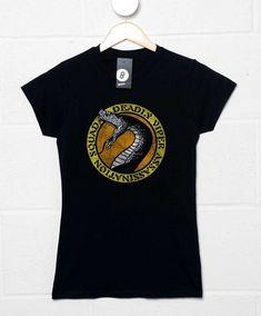 DeVAS Womens T Shirt - Black / 6-8