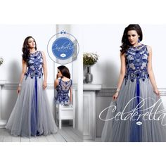 Designer Long Partywear Gown