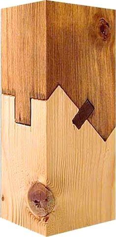 Schräger Blattstoß #WoodworkTechniques