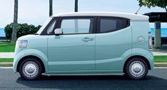 2018 Honda N-Box Slash Brings Updates To The Sleekest Of Kei Cars #news #Honda