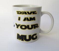 Star Wars Personalized Mug. Darth Vader Mug. I Am Your Father, I Am Your Mug