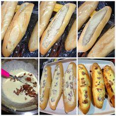 Degustando ideias   Blog de Culinária: Baguete recheada