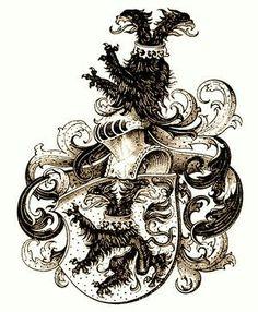 Wappen der Familie von Dick / Coat of Arms of The Family von Dick / Armas de la Familia von Dick