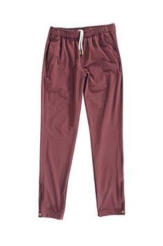 Oliver's Apparel Bradbury Jogger - Crimson Joggers, Sweatpants, Athletic Shorts, Stay Active, Pajama Pants, Model, How To Wear, Collection, Style