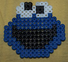 Cookie Monster hama beads by Christine