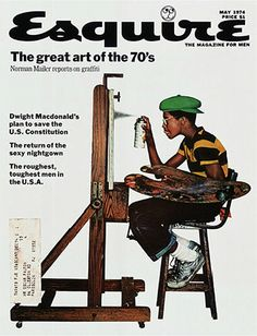 Great art of the '70s - Esquire magazine, May 1974.