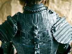 Armor.  Recycled bicycle innertubes.  WOWZA.