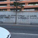 Ticinonline - Scritte anti Gobbi e anarchiche a Besso