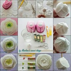 Wafer paper flower tutorial - For all your cake decorating supplies, please visit craftcompany.co.uk
