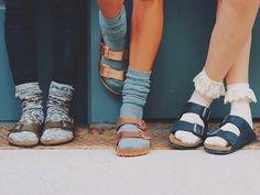 adoro FARM - como usar: sandálias com meia