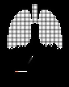 Now here's something you don't see everyday....an awesome anti-smoking poster