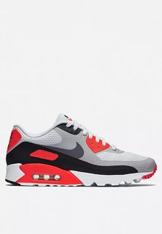 uk availability ffc67 ca36a Air Max 90 Ultra Essential Grey Nikes Mens, Nike Air Max White, Air Max