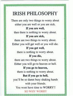 why worry poem irish poem | Arguments To Jesus' Ethnicity