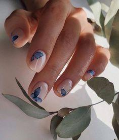 Manicure Nail Designs, Nail Manicure, Cute Nail Designs, Designs For Nails, Manicure For Short Nails, Gel Polish Designs, Cute Gel Nails, Natural Nail Designs, Short Gel Nails