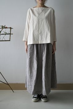 Overeating Quotes Overeating Funny So True Japan Fashion, Boho Fashion, Womens Fashion, Fashion Design, Moda Casual, Wide Pants, Japanese Outfits, Linen Dresses, Mode Inspiration