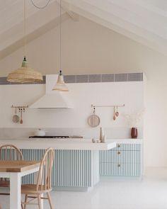"Pandolfini Architects on Instagram: ""The Sorrento Beach House kitchen. Photographed by @arorygardiner styling by @jesskneebone"""