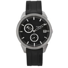 Tissot Men's Titanium GMT Dial Watch
