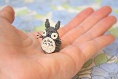 Studio Ghibli Totoro Amigurumi by TheBittiestBaubles on Etsy Video Game Crafts, My Neighbor Totoro, Gremlins, Child Safety, Miniature Dolls, Studio Ghibli, Plushies, Artisan, Miniatures