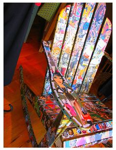 I'm going to decoupage the wooden rocker for the baby's room! :o]