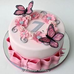 Very cute this butterfly cake ? by – – – – Very cute this butterfly cake ? by – – – – Very cute this butterfly cake ? by – – – – Very cute this butterfly cake ? Birthday Cakes Girls Kids, Butterfly Birthday Cakes, Creative Birthday Cakes, 4th Birthday Cakes, Butterfly Cakes, Girly Cakes, Cute Cakes, Pretty Cakes, Fondant Cakes