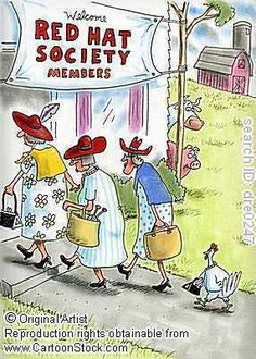 If you're 50+ & have a Red Hat...Welcome!!