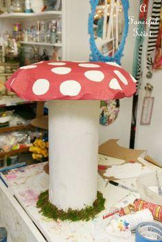 more diy mushrooms - easier project