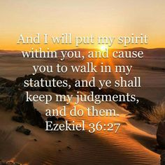 Ezekiel 36:21 (ESV) 21 But I had concern for my holy name, which the house of Israel had profaned among the nations to which they came