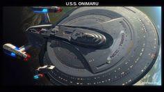 Star Trek USS Enterprise NCC-76890 Onimaru