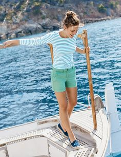 Chino shorts are a MUST for this season's wardrobe. They've got that smart/casual thing going on, plus a golden ratio of cotton to elastane – so they fit JUST how you want them to and hold their shape all day long.