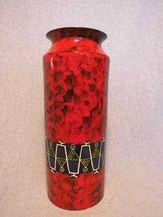 "Italien pottery Vase 8237 ""cerias"" ? ceramic Design Entwurf Italy vintage   eBay"