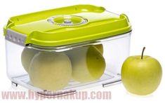 Vákuový box na potraviny STATUS 158603 - 2l green Box, Green, Snare Drum