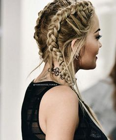 Currently Coveting: Bomber Jackets and Braids | Nikole DeBell Beauty  rita ora braids