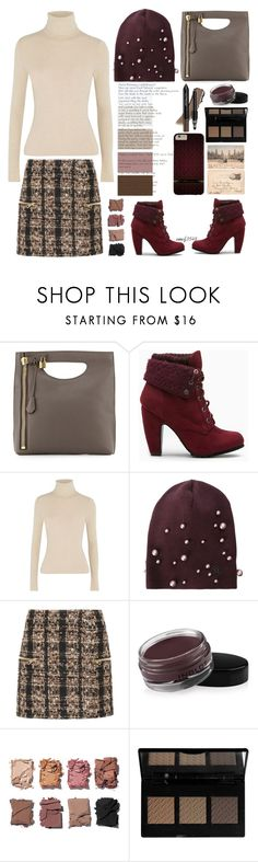 """Jumper n Skirts"" by emcf3548 ❤ liked on Polyvore featuring Tom Ford, Alice + Olivia, Maison Michel, Balmain, Inglot, trèStiQue, Illamasqua and The BrowGal"